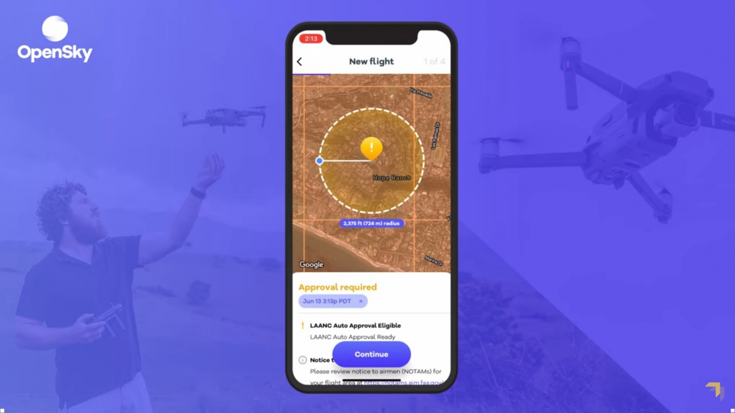 Google Wing's 'OpenSky' App to Launch in Android, iOS--Flying Drones is Now Easier Than Before