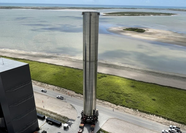 SpaceX Super Heavy Rocket