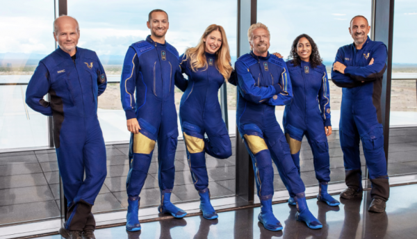 Virgin Galactic's Crew for July 11 Launch