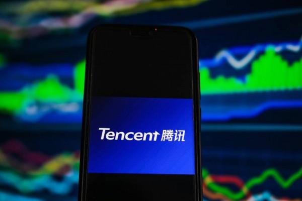 Tencent logo phone