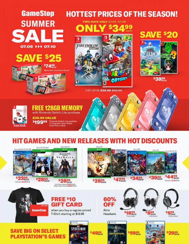 GameStop Summer Sale (1)