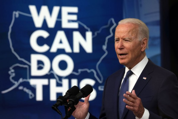 Biden Wants to Knock on Doors to Invite Americans to Vaccinate Against COVID-19