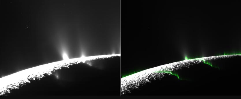 Saturn Probe Cassini Spacecraft Finds Methane in Enceladus - Sign of Life?