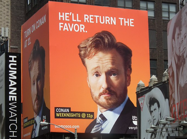 Conan O'Brien Talks About Crypto and Catches Attention of Dogecoin Creator