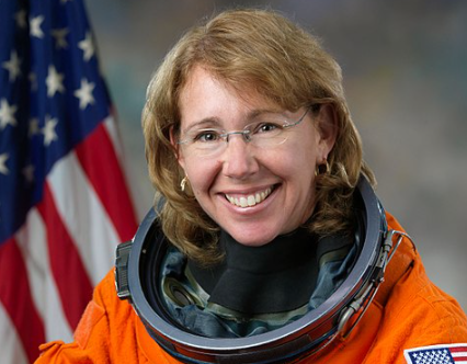 NASA Celebrates 10th Anniversary of Space Shuttle Program with Sandra Magnus as 1 of 4 Astronauts on the Mission