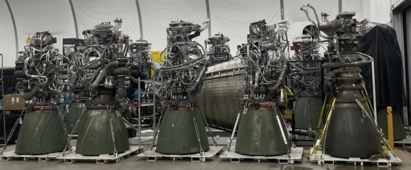 SpaceX Raptor Engines for Super Heavy