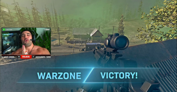 'Call of Duty: Warzone' Level 1000 and Dark Matter Cheater Attacks Twitch Streamer NICKMERCS, But Unexpected Match Ending Happened