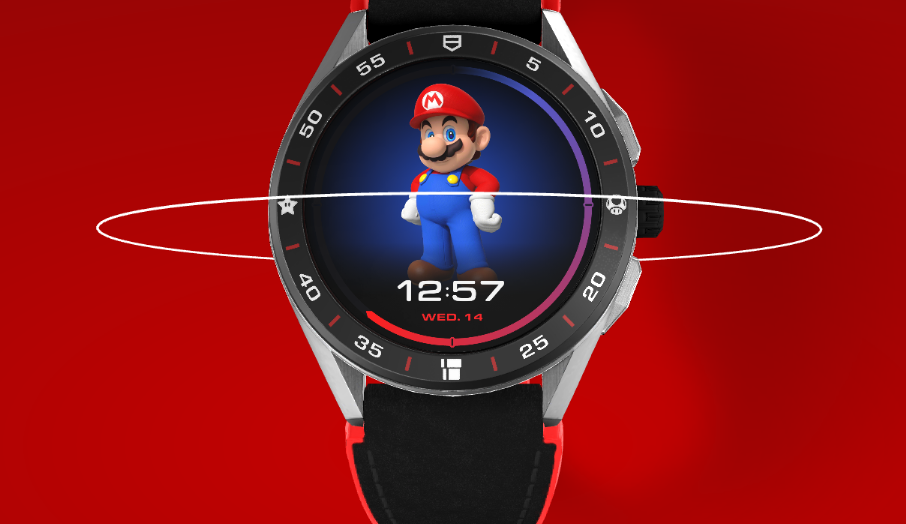 TAG Heuer x Super Mario $2,100 Smartwatch Limited Edition   Almost Half of James Bond 007's Watch and