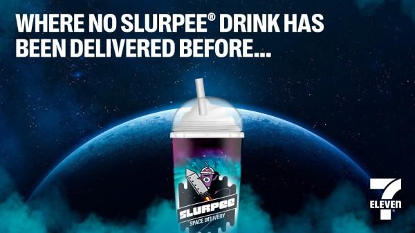 7-Eleven Slurpee Space Delivery