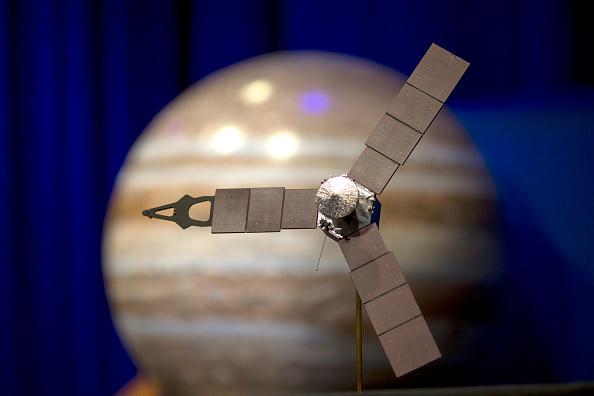 NASA Juno Probe Captures Breathtaking Jupiter's Ganymede Photos: JunoCam Creates Animation of the Red Giant