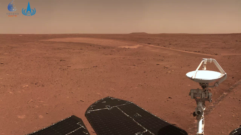 China's Zhurong Mars Rover Travels Over 500 Meters on the Red Planet Unharmed—What's Next?