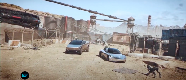Tesla Cybertruck, Roadster on Mars? Tencent Games Trailer Flaunts Upcoming EVs—Elon Musk Approves?