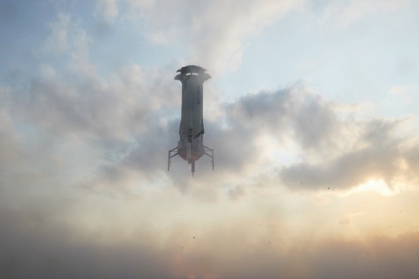 Jeff Bezos and Blue Origin's New Shepard
