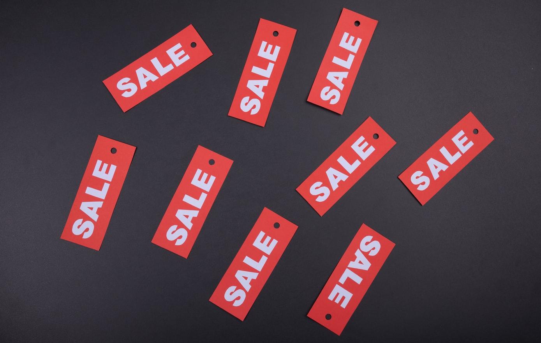 Sale / Unsplash