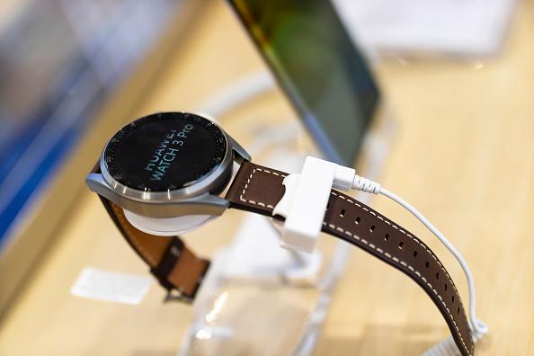 Smart watch display