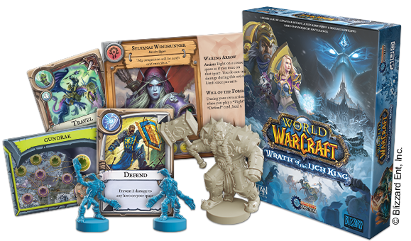 World of Warcraft: Wrath of the Lich King Board Game