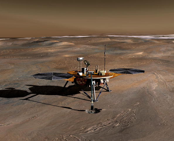NASA InSight Mars Helicopter Discovers Marsquakes: New Details Show Planet Has Large Core and Thin Crust