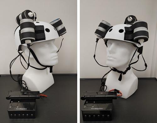 Magnetic Helmet for Tumors