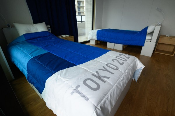 Olympic Village Cardboard Beds: TikTok Video Shows How Many Olympians it Can Take Before Breaking