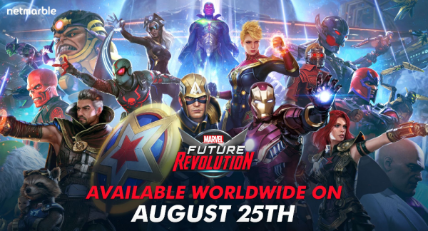 'Marvel Future Revolution' Action RPG iOS, Android Arrival Details: Global Pre-Registration and MORE!