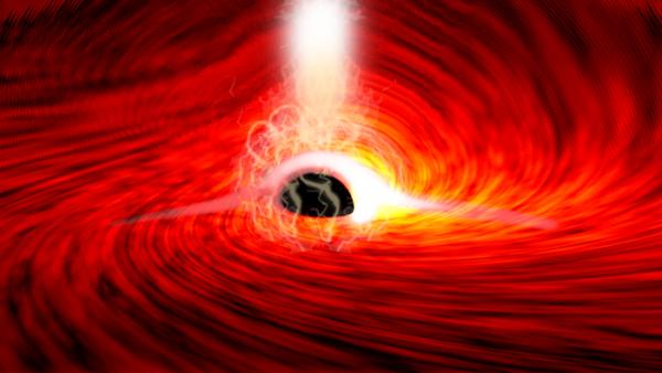 Albert Einstein's Theory of General Relativity Black Hole
