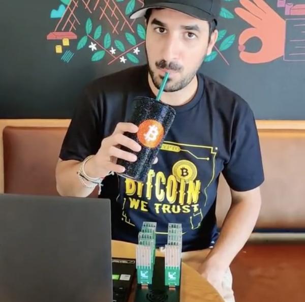 Bitcoin Mini Mining Rig