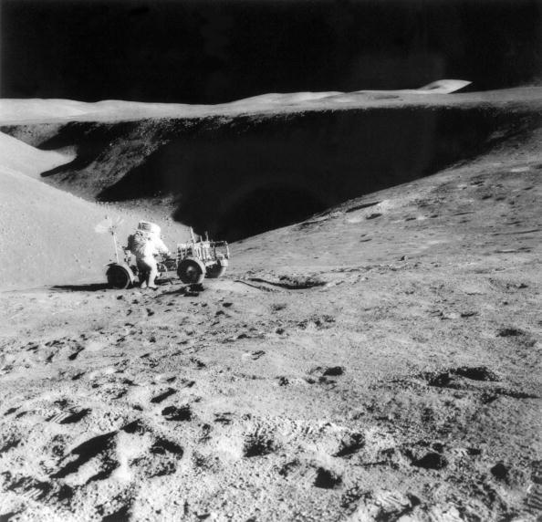 En el aterrizaje lunar del Apolo 15