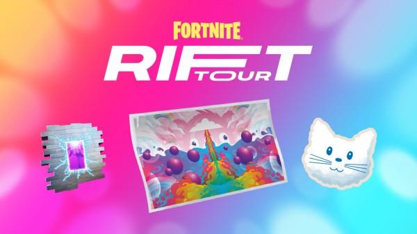 Fortnite Rift Tour Items