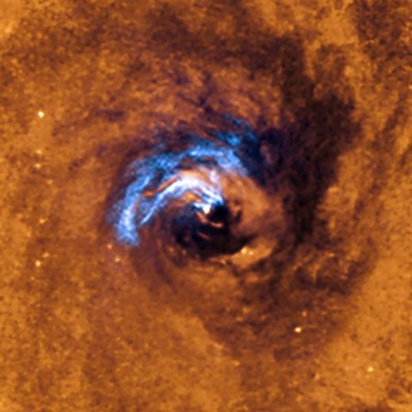 Supermassive Black Hole in NGC 1566 Eating