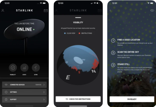 SpaceX Starlink Mobile App Hits 90,000 Users in Beta Phase with 4.6 Out of 5 Rating