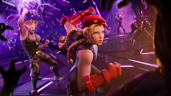 Cammy and Guile Arrives at Fortnite