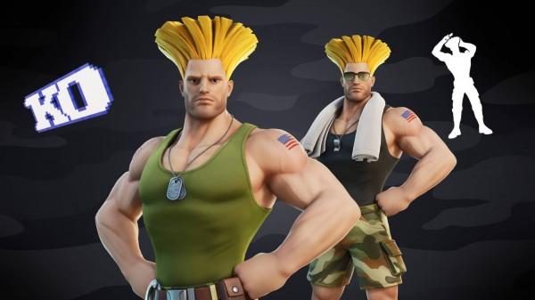 Guile: Street Fighter x Fortnite