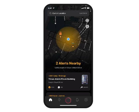 Citizen App Launches Monthly Subscription Service Giving Users Access to Remote Safety Experts
