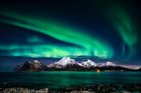 Northern Lights or Aurora Borealis