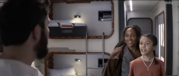 Star Wars' Galactic Starcruiser's Passenger Cabins