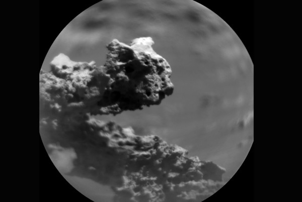 NASA Mars Curiosity Rover Catches Glimpse of Unusual Rock Feature in Gale Crater