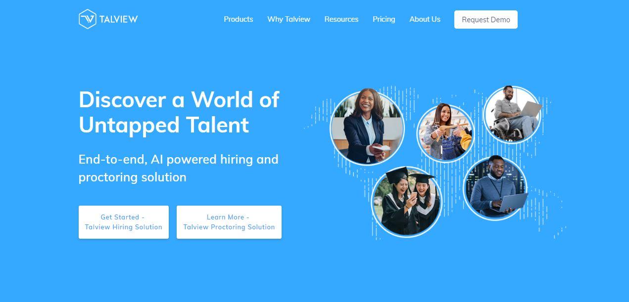 Talview Website