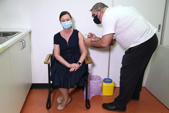 Covid 19 vaccine lady