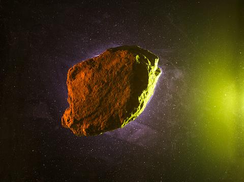 Asteroid art