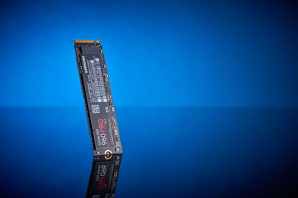 M.2 ssd standing up