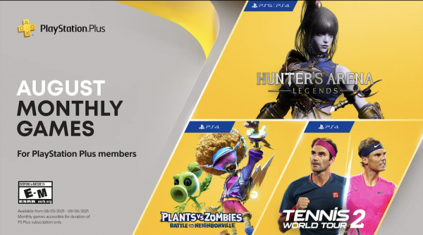 PS Plus Games August 2021
