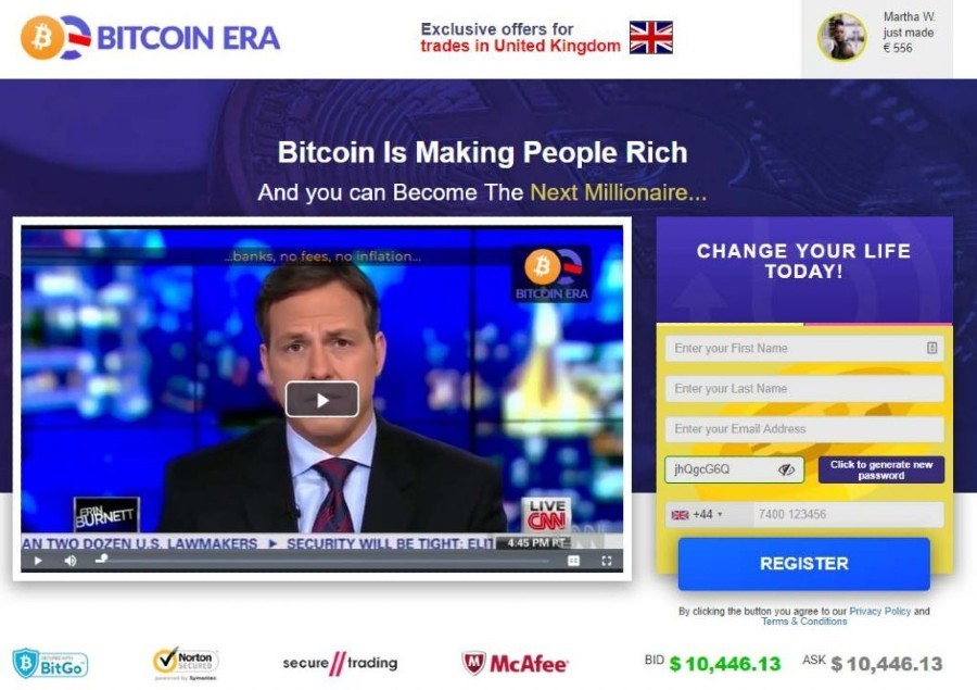Bitcoin Era Review: The Official Legit App Seen on TV This Morning