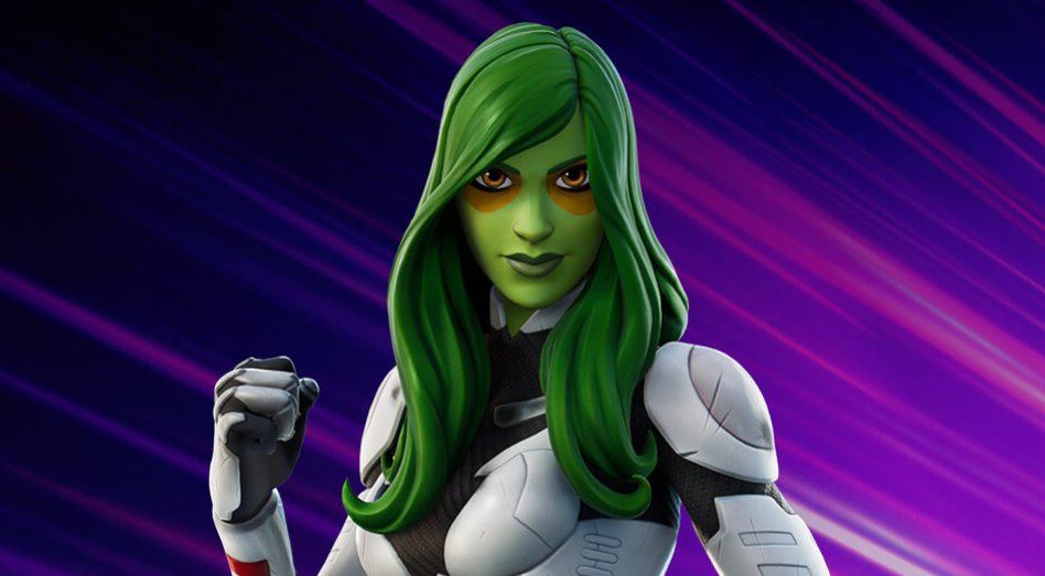 Gamora 'Fortnite' Skin | Take a First Look at the Green Warrior from Guardians of the Galaxy