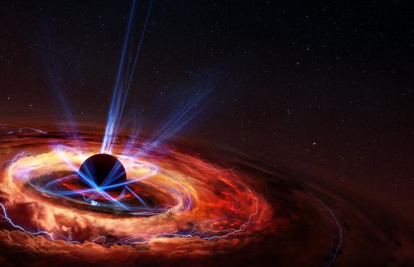 Black hole rendition