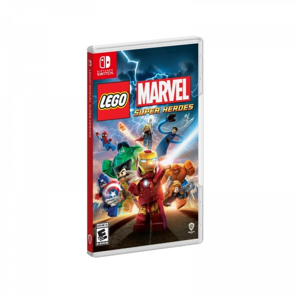 Cover Design for the Upcoming LEGO Marvel Super Heroes for Nintendo Switch