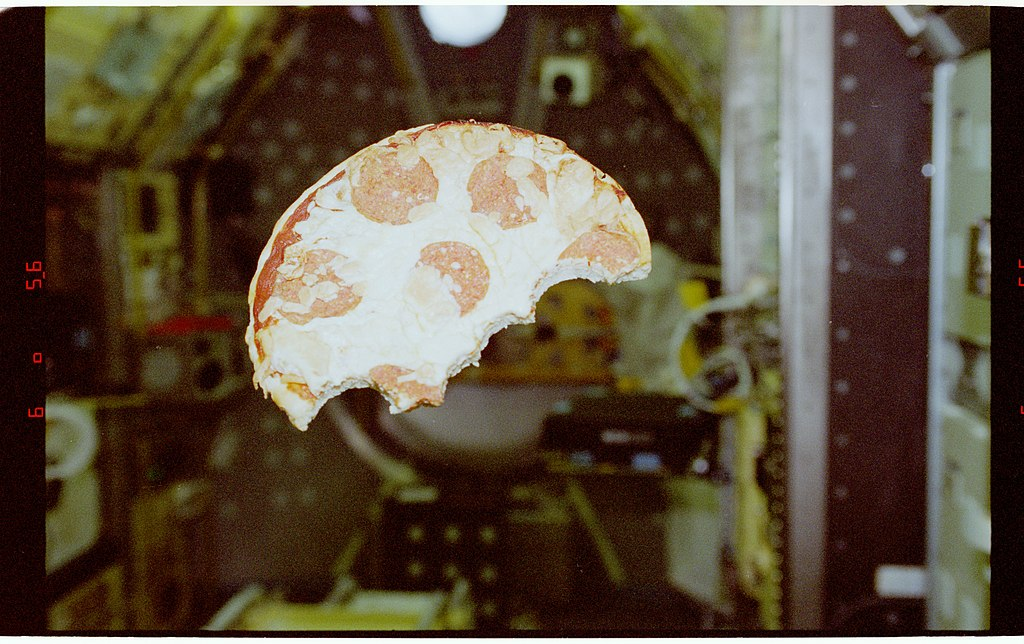 Space Station Pizza Delivery Launches with Enough Grub for Seven Astronauts