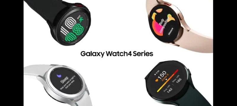 Samsung Galaxy Unpacked Galaxy Watch 4 Series