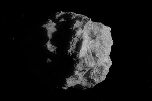 Asteroid art dark