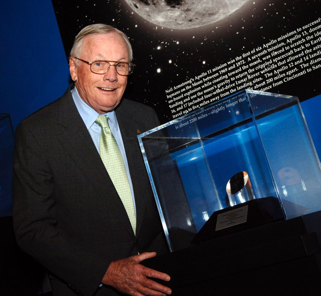 First Man On Moon Recognized In NASA Ceremony