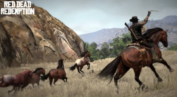 Red dead redemption screen